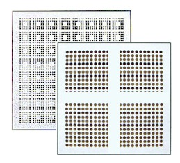 Standard Perforated Floor Tiles - 22% - 35% Air Flow